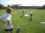 Year 6 teaching games to Class 2