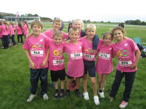 Cross Country Runneres ready for the off