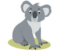cartoon koala bear