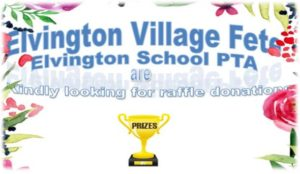 Please bring PTA raffle prize donations in by today!
